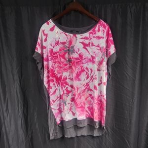 Apt. 9 loose fit floral tee